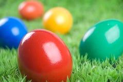 Eastereggs colorés Photo libre de droits