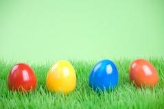 Eastereggs colorés Photos stock