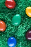 Eastereggs colorés Photographie stock libre de droits