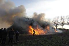 Easterfire Photographie stock libre de droits