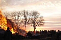 Easterfire Fotografia Stock Libera da Diritti