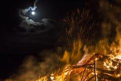Easterfire på Wapse Royaltyfri Bild