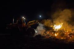 Easterfire på Wapse Royaltyfria Bilder