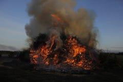 Easterfire på Wapse Arkivfoto