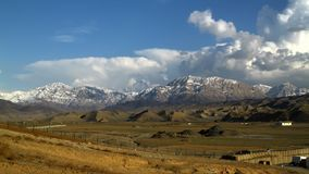 Eastern Afghanistan landscape Stock Photography