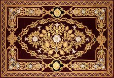 Islamic decorative pattern stock photos