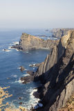 Eastern Atlantic coast of Portugal Royalty Free Stock Photography