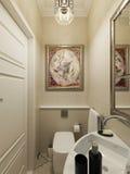 Eastern bathroom design Royalty Free Stock Photography