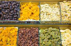 Eastern bazaar sweets in Istanbul stock photos