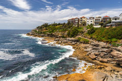 Eastern Beaches walk in Sydney Royalty Free Stock Image