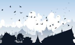 Free Eastern Bird City Royalty Free Stock Image - 14992116