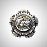 Eastern block - cold war era medal Royalty Free Stock Images