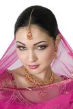 Eastern Bride. With a seductive look Stock Photos