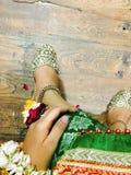 Eastern bride royalty free stock image
