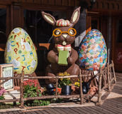 Eastern Bunny Gramado Brazil Royalty Free Stock Image