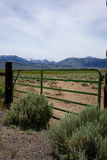 Eastern California Ranch. A California ranch on eastern side of the Sierra Nevada Mountains royalty free stock photos