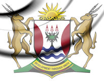 Eastern Cape Province coat of arms, South Africa. Stock Photography
