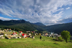 Eastern Carpathians, Durau Royalty Free Stock Photography