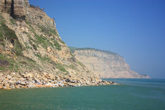 Eastern cliffs at Hastings Royalty Free Stock Images