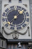 The eastern clockface of Zytglogge Stock Photos