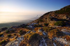 Eastern coast  of corsica Stock Photography