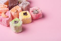 Eastern colorful sweets Royalty Free Stock Photography