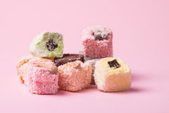 Eastern colorful sweets Stock Photography