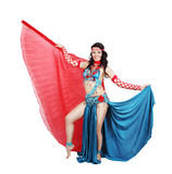 Eastern costume with wings Stock Photo