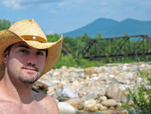 Eastern cowboy Stock Photography