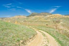 Eastern Crimean rural landscape Royalty Free Stock Images