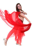 Eastern dancer Stock Photography