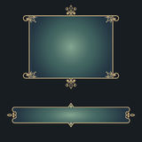 Eastern decorative frames Stock Photo