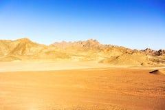 Eastern desert landscape in Egypt Royalty Free Stock Image