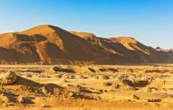 Eastern desert landscape in Egypt Stock Photo