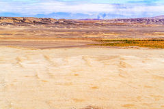 Eastern desert landscape in Egypt Stock Image