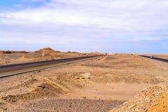 Eastern desert landscape in Egypt Royalty Free Stock Photos