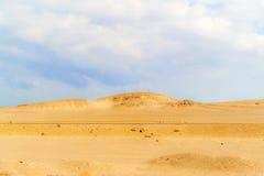 Eastern desert landscape in Egypt Stock Photography