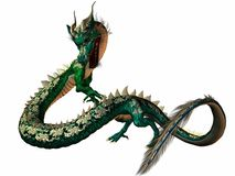 Eastern Dragon Stock Images