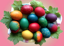 Eastern egg decoration Royalty Free Stock Photos
