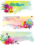 Eastern eggs. Background eastern colors eggs illustration Royalty Free Stock Photography