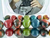 Eastern eggs Stock Photos