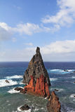 Eastern end of the oceanic island of Madeira Stock Image