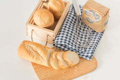Eastern Europe long loaf bread Royalty Free Stock Image
