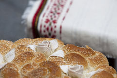 Eastern Europe Traditional Bread Royalty Free Stock Photo