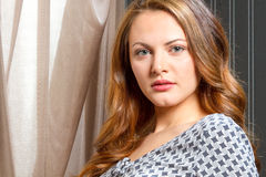 Eastern European female beauty Royalty Free Stock Image