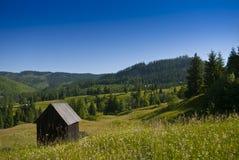 Eastern european mountain scenery. In summer Stock Photos
