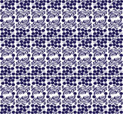 Eastern European traditional seamless pattern with Royalty Free Stock Images