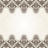 Eastern filigree ornament background. Royalty Free Stock Image