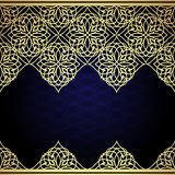 Eastern filigree ornament background. Stock Photos