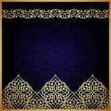 Eastern filigree ornament background. Stock Photos